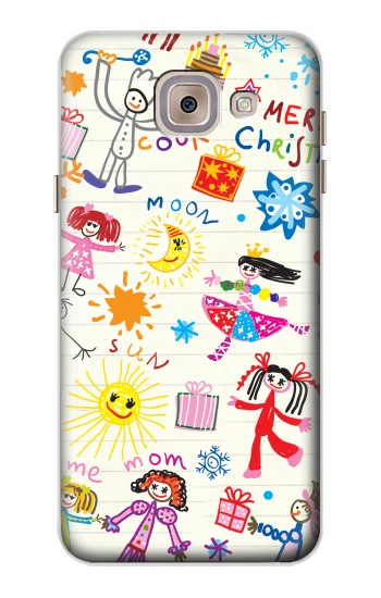 Printed Kids Drawing Asus Zenfone 5 A500CG Case