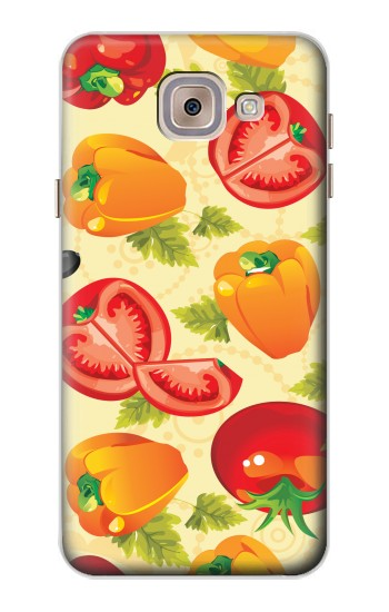 Printed Seamless Food Vegetable Asus Zenfone 5 A500CG Case