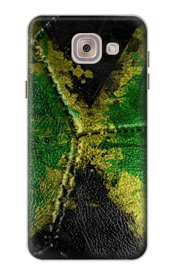 Printed Jamaica Flag Vintage Football 2018 Asus Zenfone 5 A500CG Case