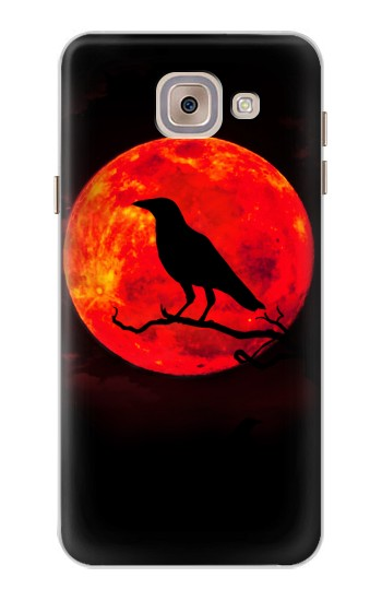 Printed Crow Red Moon Asus Zenfone 5 A500CG Case