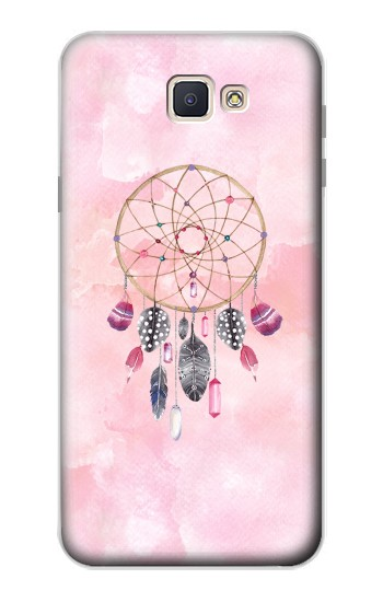 Printed Dreamcatcher Watercolor Painting Samsung Galaxy J7 Prime Case