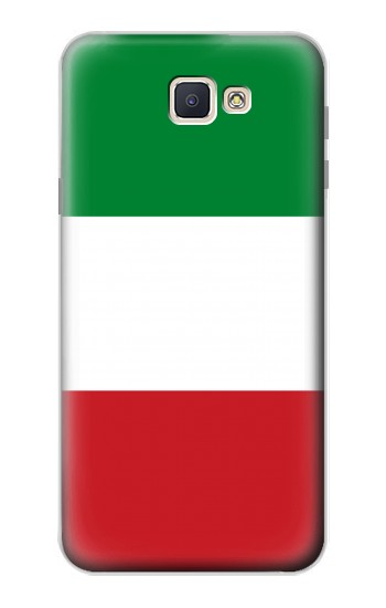 Printed Flag of Italy and Mexico Samsung Galaxy J7 Prime Case