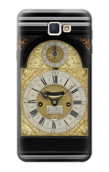 Printed Antique Bracket Clock Samsung Galaxy J7 Prime Case