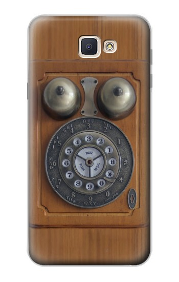 Printed Antique Wall Phone Samsung Galaxy J7 Prime Case