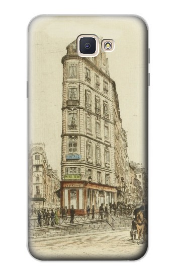Printed Boulevards of Paris Samsung Galaxy J7 Prime Case