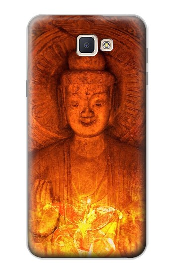 Printed Buddha Spiritual Holy Lights Samsung Galaxy J7 Prime Case