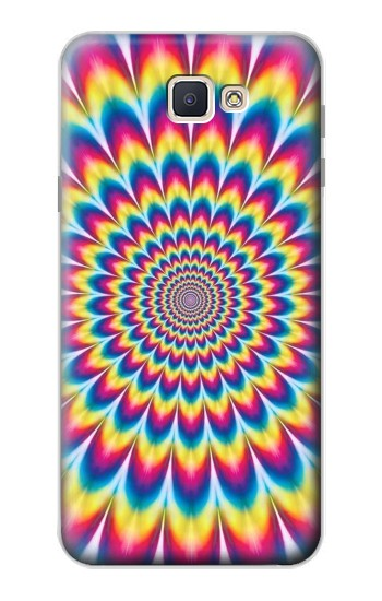 Printed Colorful Psychedelic Samsung Galaxy J7 Prime Case