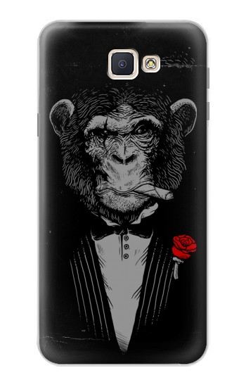 Printed Funny Monkey God Father Samsung Galaxy J7 Prime Case