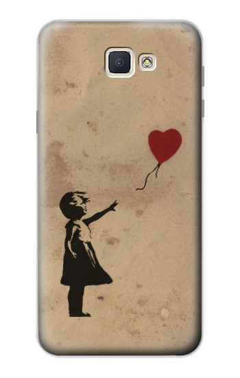 Printed Girl Heart Out of Reach Samsung Galaxy J7 Prime Case