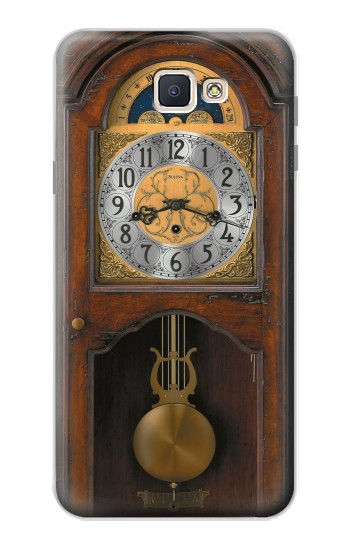 Printed Grandfather Clock Antique Wall Clock Samsung Galaxy J7 Prime Case