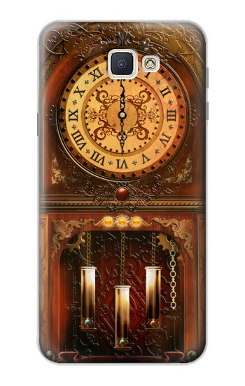 Printed Grandfather Clock Samsung Galaxy J7 Prime Case