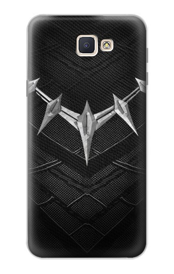 Printed Black Panther Inspired Costume Necklace Samsung Galaxy J7 Prime Case