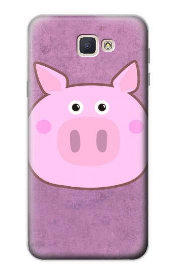 Printed Pig Cartoon Samsung Galaxy J7 Prime Case