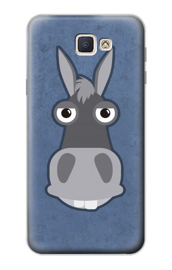 Printed Donkey Cartoon Samsung Galaxy J7 Prime Case