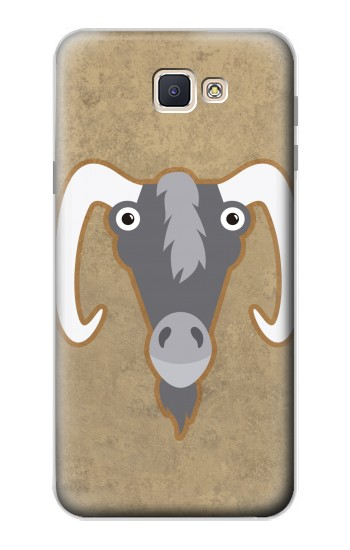 Printed Goat Cartoon Samsung Galaxy J7 Prime Case