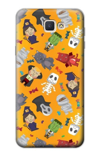 Printed Cute Halloween Cartoon Pattern Samsung Galaxy J7 Prime Case