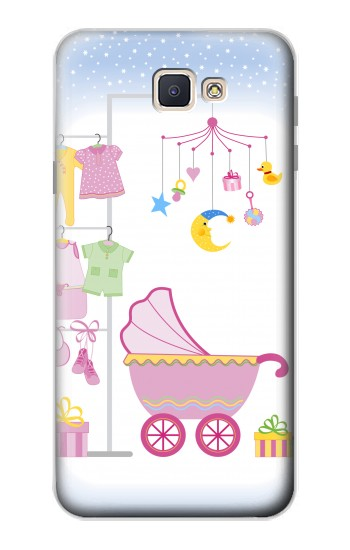 Printed Baby Supplies Samsung Galaxy J7 Prime Case
