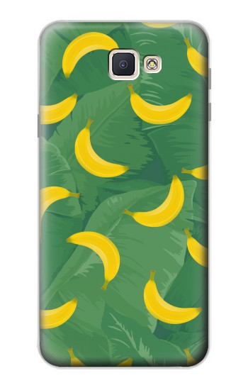 Printed Banana Fruit Pattern Samsung Galaxy J7 Prime Case