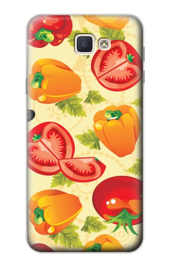 Printed Seamless Food Vegetable Samsung Galaxy J7 Prime Case