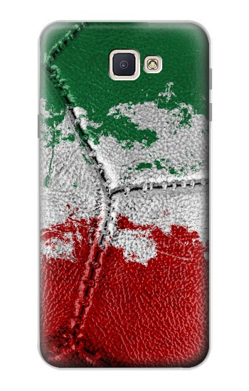 Printed Italy Flag Vintage Football 2018 Samsung Galaxy J7 Prime Case