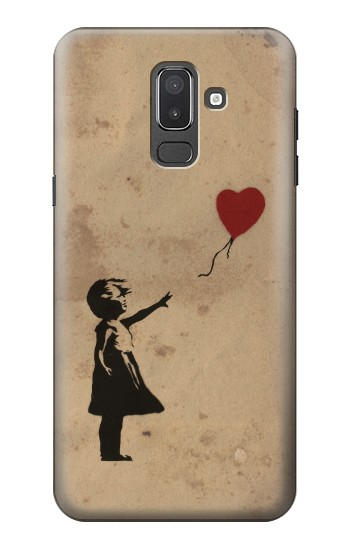 Printed Girl Heart Out of Reach Samsung Galaxy J8 Case