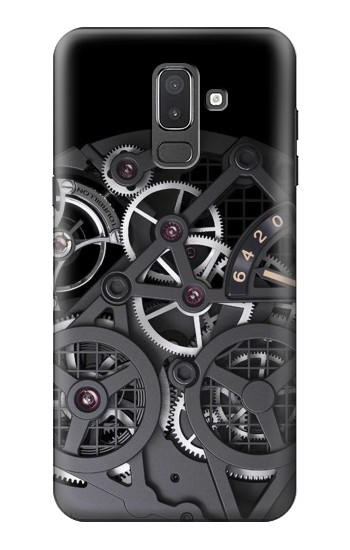Printed Inside Watch Black Samsung Galaxy J8 Case
