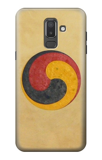 Printed Korean Traditional Drum Samsung Galaxy J8 Case