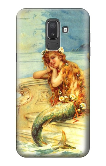 Printed Little Mermaid Painting Samsung Galaxy J8 Case