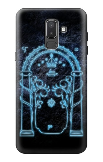 Printed Lord of The Rings Mines of Moria Gate Samsung Galaxy J8 Case
