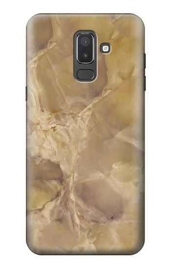 Printed Yellow Marble Stone Samsung Galaxy J8 Case