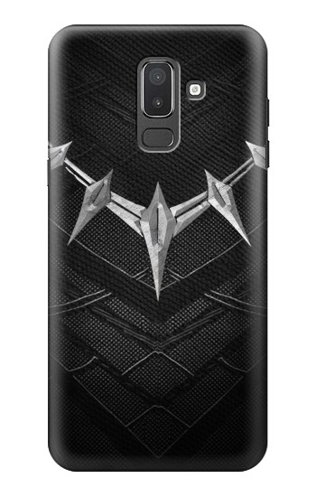 Printed Black Panther Inspired Costume Necklace Samsung Galaxy J8 Case
