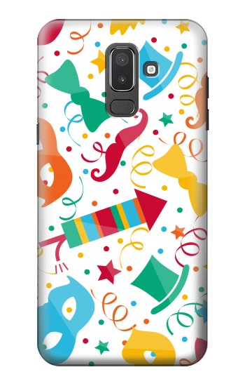 Printed Carnival Pattern Samsung Galaxy J8 Case