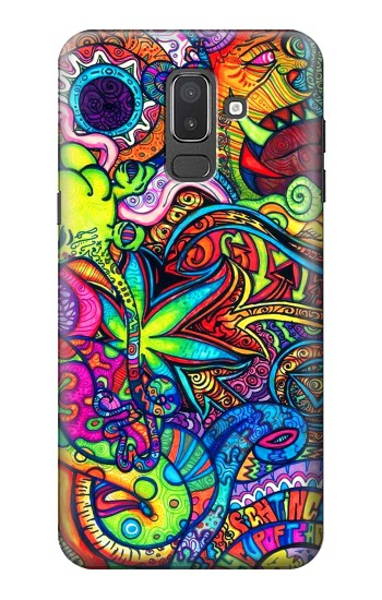 Printed Colorful Art Pattern Samsung Galaxy J8 Case