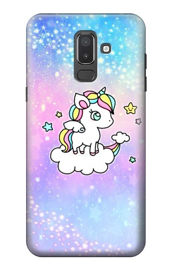 Printed Cute Unicorn Cartoon Samsung Galaxy J8 Case
