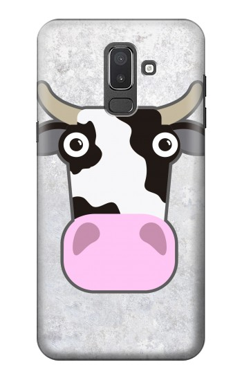 Printed Cow Cartoon Samsung Galaxy J8 Case
