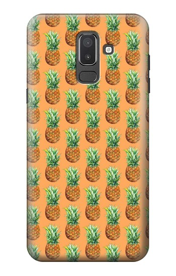 Printed Pineapple Pattern Samsung Galaxy J8 Case