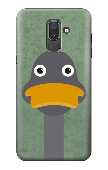 Printed Duck Cartoon Samsung Galaxy J8 Case