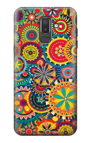 Printed Colorful Pattern Samsung Galaxy J8 Case