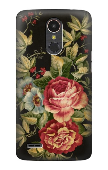 Printed Vintage Antique Roses LG K10 (2017) Case