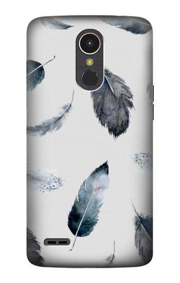 Printed Feather Paint Pattern LG K10 (2017) Case