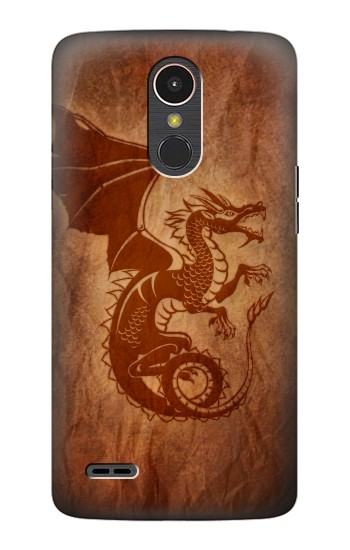 Printed Red Dragon Tattoo LG K10 (2017) Case