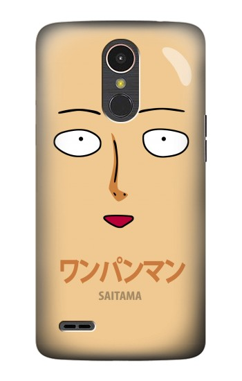 Printed Saitama One Punch Man LG K10 (2017) Case