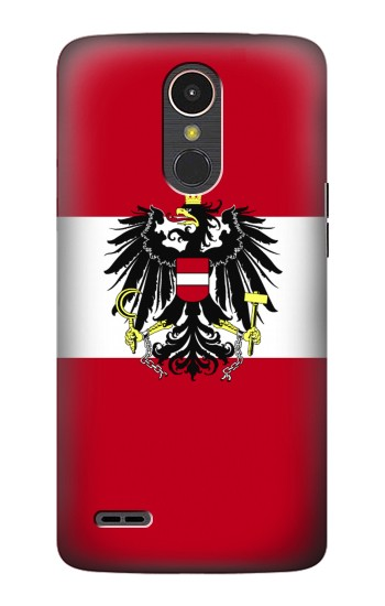 Printed Variant flag of Austria LG K10 (2017) Case