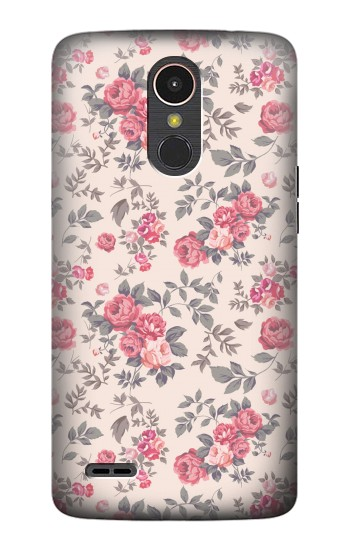 Printed Vintage Rose Pattern LG K10 (2017) Case