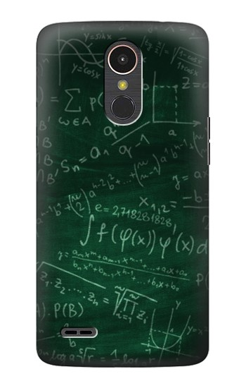 Printed Math Formula Greenboard LG K10 (2017) Case
