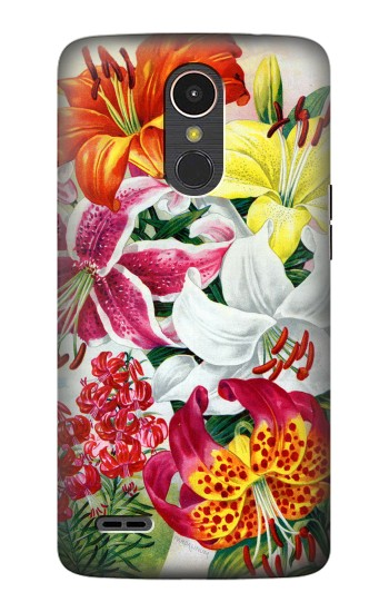 Printed Retro Art Flowers LG K10 (2017) Case