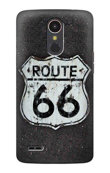 Printed Route 66 Sign LG K10 (2017) Case