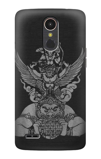Printed Sak Yant Rama Tattoo LG K10 (2017) Case