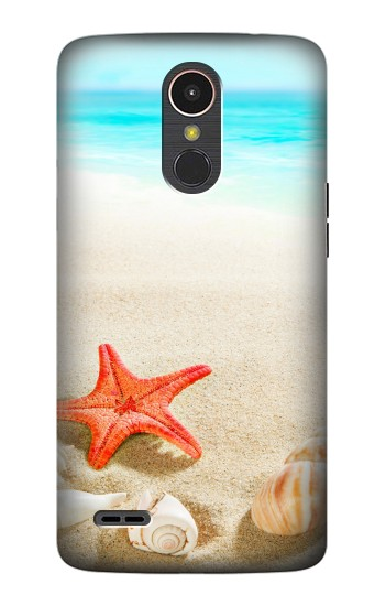 Printed Sea Shells Starfish Beach LG K10 (2017) Case