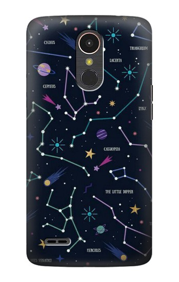Printed Star Map Zodiac Constellations LG K10 (2017) Case